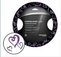 Cartoon SWC heart design car steering wheel cover auto car steering wheel cover
