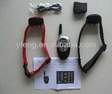 remote vibrating dog training collar with English user manual