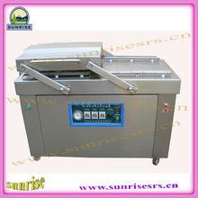 Hot selling good quality double chamber vacuum packing machine/ vacuum bag sealer