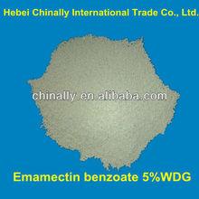 Emamectin benzoate formulation 5%WDG,5%SG,2%EC(CAS NO.155569-91-8;137512-74-4)