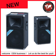 """12"""" 2 way Speaker, professional stage loudspeakers\ with amplifier, USB,SD,FM, horn driver"""