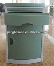 hot sale hospital plastic bedside cabinet