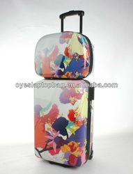 "12"" 24"" pp woven eminent luggage bag 4 wheel luggage"