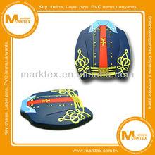 2D design soft PVC rubber fridge magnet manufacturer
