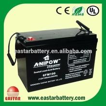 vrla battery 12v 100ah