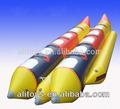 Diffent tipos de inflável flutuante de barco
