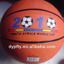 Printing customer logo basketball balls