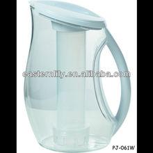 Acrylic lemon water pitcher