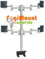 Raum extender 4 lcd-monitor Arm( tischklemme Halterung)