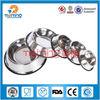 round stainless steel bird feeder