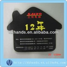 House shape promotional mouse pad