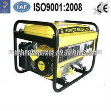 2 kw honda type gasoline Generator with 12V DC, eletric start,push hand
