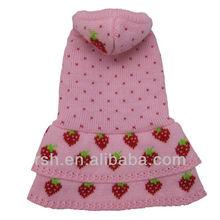 Lovable strawberry pet clothing dog dress RSH1667
