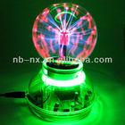 "USB + AC 3.5"" Plasma Ball Mood Light Lightning Sphere"