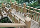 CAML Waterproof WPC outdoor Decorative Deck Railings / Handrail
