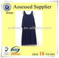nuevo estilo de vestidos de impresión de hermosos vestidos casual vestido de gasa