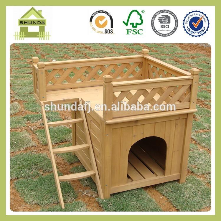 SDD01 Wooden Dog House