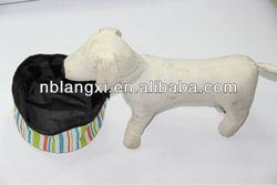 Promotional Collapsible Pet Water Bowl, Folding Pet Travel Food Bowl