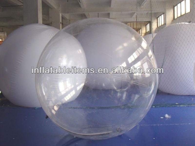 Transparent gonflable boule de marche appareil gonflable - Boule gonflable transparente ...