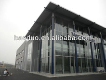 Mercedes-Benz structural steel car showroom