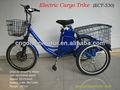 eléctrico triciclo de carga con nuestra tarta de smart hub motor eléctrico