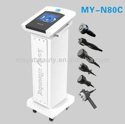 guangzhou maya factory/6IN1/ulthera machine/best slimming machine/My-N80C / RF cavitation slimming machine (CE)