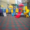 Outdoor playground rubber tile