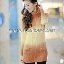12STC0701 angora wool latest design winter sweater women