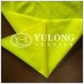 De calidad superior de poliéster / algodón EN471 fluorescente tela para la seguridad chaleco