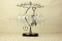 Hanging Wine Glass Stemware Drying Tree Rack