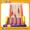 Inflatable rocking wall climbing