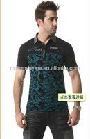 2013 fashion round neck men's T-shirt