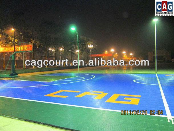 Cag serie oro specificamente progettato rimovibile& multiuso per esterni pavimenti basket
