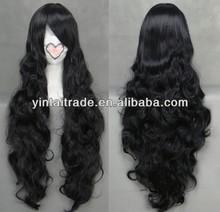 100% Brazillian human virgin remy hair wig jet black body wave super long wholesale fectory price cheap lace front