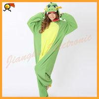 New Adult Cartoon Polar Fleece Lovely China Dragon Onesie costume pajamas