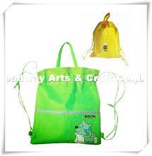 useful nonwoven drawstring backpack bag for children