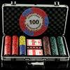 300 Pc Casino Style 11.5g Sticker Poker Chip Set/casino poker chips set