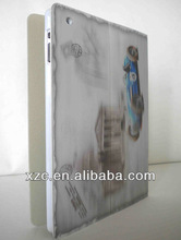 Popular! 3D Protective leather Cover for Ipad2/3/ipad air 2 16gb
