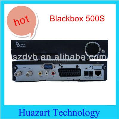 set top box blackbox 500s digital por satélite receptor decodificador