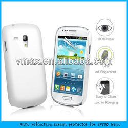 Vmax 3H Hardness ! Anti Reflective Screen Shield / Mobile phone accessory For Samsung galaxy i9300 mini (AR)