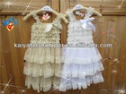 new pushout birthday skirt baby lace dresses children boutique clothes
