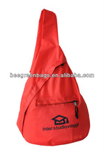 Promotional canvas backpack bag/cheap school backpack