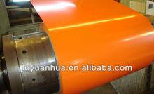 Building Materials galvanized color coated steel coil PPGI