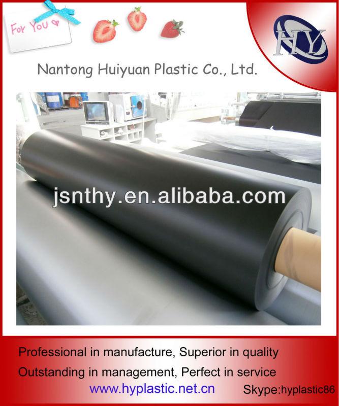 Environmental Soft Matte PVC Sheets Black
