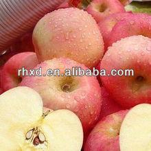 flesh fruit red big apple