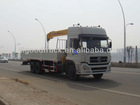 Dongfeng 6x4 truck mounted with XCMG 10Ton crane