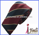 Fashion coat tie polyester striped ties
