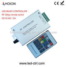 LED Music Controller,LED Audio Controller,12V,24V