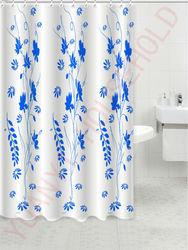 shower curtain bathroom accessory blue shower curtain bathroom