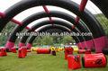 Venda quente arena de paintball, bunkers infláveis para jogos de tiro